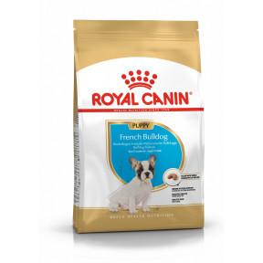 Сухой корм для щенков Французского Бульдога Royal Canin French Bulldog Puppy для здоровья кожи и шерсти 3 кг