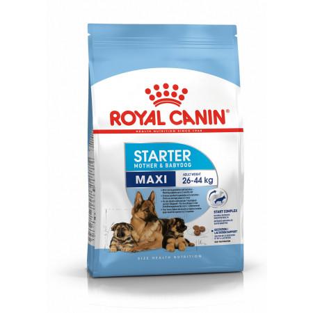 Сухой корм для щенков, для беременных и кормящих собак Royal Canin Maxi Starter Mother & Babydog (для крупных пород) 15 кг