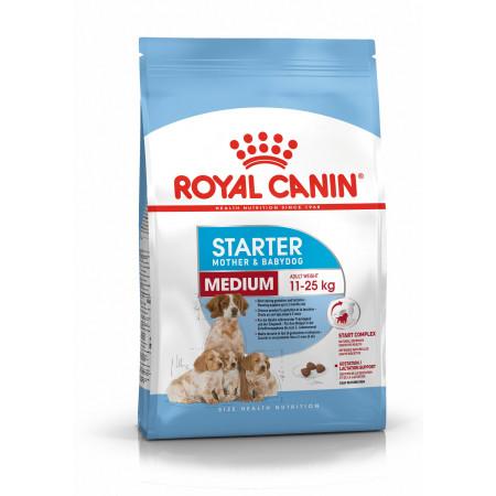 Сухой корм для щенков, для беременных и кормящих собак Royal Canin Medium Starter Mother & Babydog (для средних пород) 12 кг