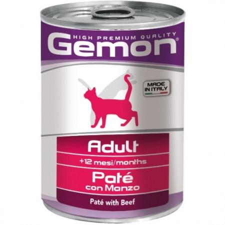 Влажный корм для котят Gemon беззерновой, паштет с говядиной 400 г