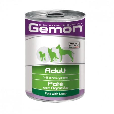 Влажный корм для собак Gemon беззерновой, паштет с ягненком 400 г