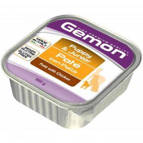 Влажный корм для щенков Gemon беззерновой, паштет с курицей 300 г