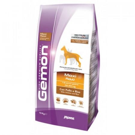 Сухой корм для собак Gemon Maxi Adult с курицей и рисом (для крупных пород) 15 кг