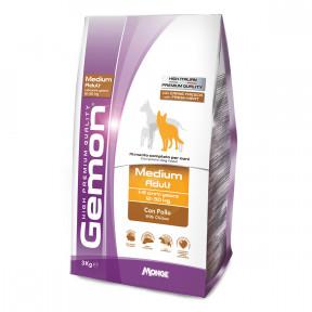 Сухой корм для собак Gemon Medium Adult с курицей (для средних пород) 3 кг