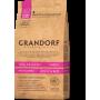 Сухой корм для собак Grandorf Adult All Breeds низкозерновой, гипоаллергенный, при чувствительном пищеварении, Индейка с коричневым рисом 3 кг