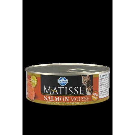 Влажный корм для кошек Farmina Matisse мусс с лососем 85 г