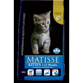 Сухой корм для котят Farmina Matisse Kitten с курицей c рисом 400 г