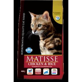 Сухой корм для кошек Farmina Matisse с курицей c рисом 10 кг