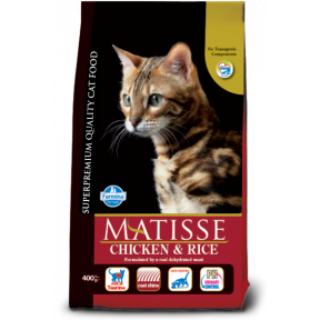 Сухой корм для кошек Farmina Matisse с курицей c рисом 400 г