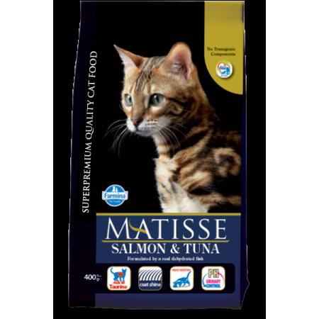 Сухой корм для кошек Farmina Matisse с лососем c тунцом 1.5 кг