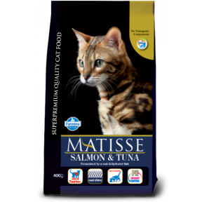 Сухой корм для кошек Farmina Matisse с лососем c тунцом 400 г