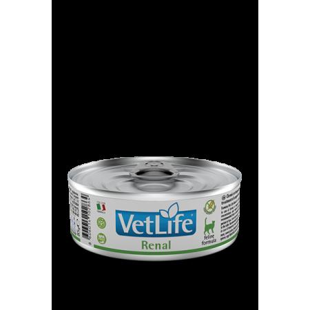 Влажный корм для кошек Farmina Vet Life Renal при проблемах с почками 85 г