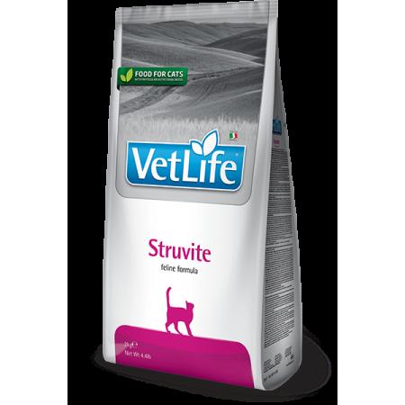 Сухой корм для кошек Farmina Vet Life Struvite для лечения МКБ, для растворения струвитов 2 кг