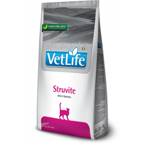 Сухой корм для кошек Farmina Vet Life Struvite для лечения МКБ, для растворения струвитов 400 г