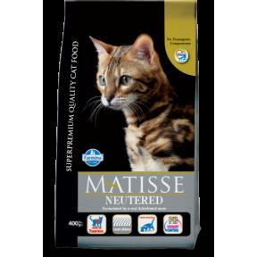 Сухой корм для стерилизованных кошек Farmina Matisse Neutered с курицей c рисом 400 г