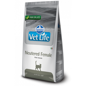 Сухой корм для Стерилизованных Кошек Farmina Vet Life Neutered Female 5 кг