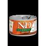 Влажный корм для собак Farmina N&D Pumpkin беззерновой, с олениной, с тыквой (для мелких пород) 140 г
