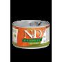 Влажный корм для собак Farmina N&D Pumpkin беззерновой, с уткой, с тыквой (для мелких пород) 140 г