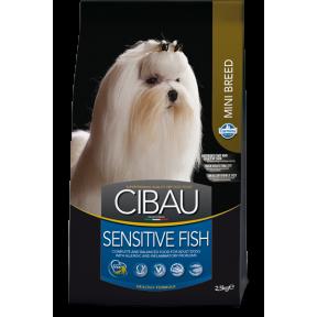 Сухой корм для собак Farmina Cibau Sensitive при аллергии с рыбой (для мелких пород) 0.8 кг