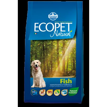 Сухой корм для собак Farmina Ecopet Natural с рыбой (для средних пород) 12 кг
