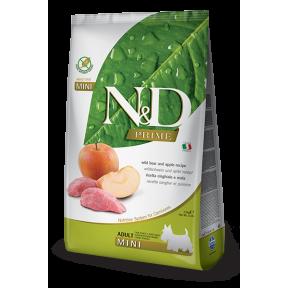 Сухой корм для собак Farmina N&D Prime беззерновой, с кабаном, с яблоком (для мелких пород) 2.5 кг