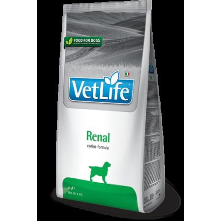 Сухой корм для собак Farmina Vet Life Renal при заболеваниях почек 2 кг
