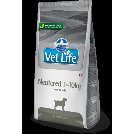 Сухой корм для стерилизованных собак Farmina Vet Life Neutered для мелких пород 10 кг