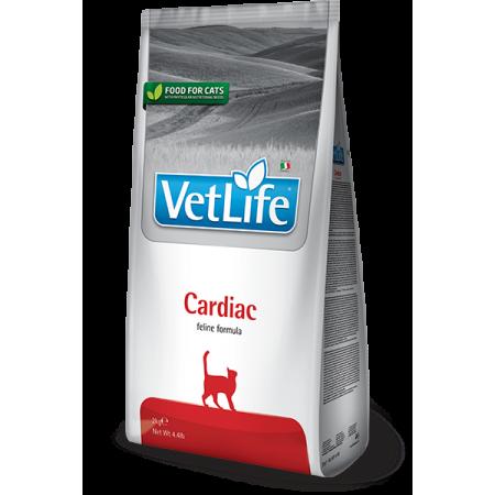 Сухой корм для кошек Farmina Vet Life Cardiac при проблемах с сердцем 400 г