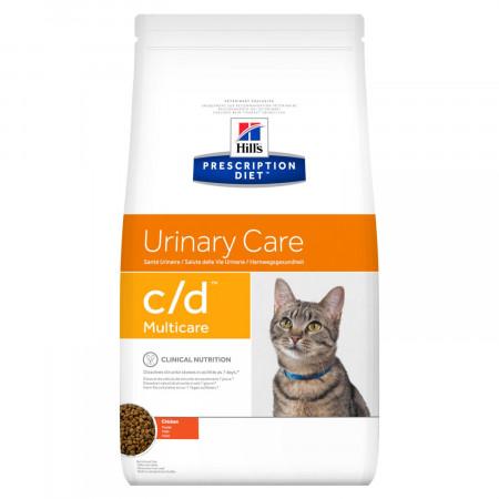 Сухой диетический корм для кошек Hill's Prescription Diet Urinary Care c/d Multicare для профилактики МКБ, с курицей 5 кг