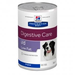 Влажный диетический корм для собак Hill's Prescription Diet Digestive Care i/d Low Fat при болезнях ЖКТ, с низким содержанием жира 360 г