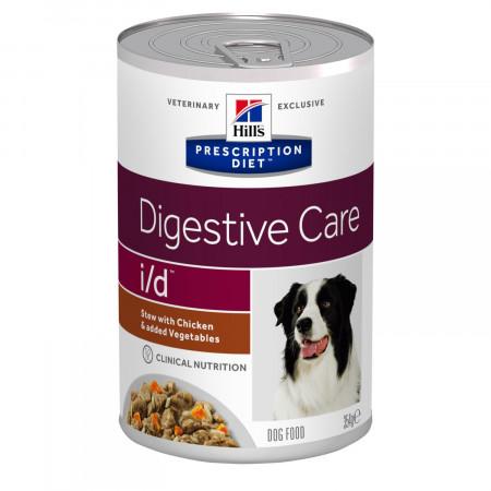 Влажный диетический корм для собак Hill's Prescription Diet Digestive Care i/d при болезнях ЖКТ, при стрессе, рагу с курицей и овощами 354 г