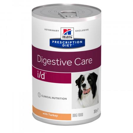 Влажный диетический корм для собак Hill's Prescription Diet Digestive Care i/d при болезнях ЖКТ, с индейкой 360 г