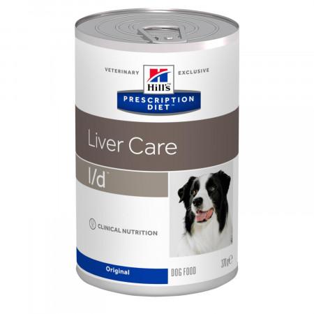 Влажный диетический корм для собак Hill's Prescription Diet Liver Care l/d при заболеваниях печени 370 г