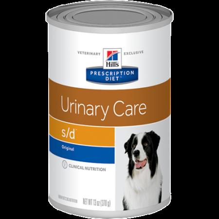 Влажный диетический корм для собак Hill's Prescription Diet Urinary Care s/d при мочекаменной болезни 370 г