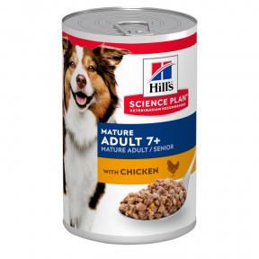Влажный корм для пожилых собак Hill's Science Plan, с курицей 370 г