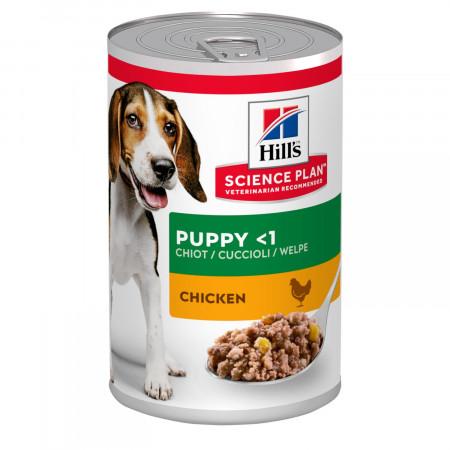 Влажный корм для щенков Hill's Science Plan, с курицей 370 г
