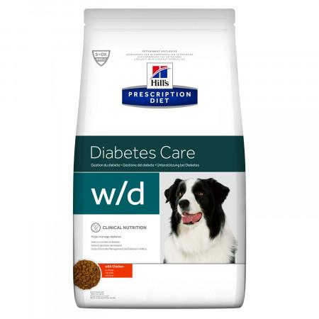 Сухой диетический корм для собак Hill's Prescription Diet Diabetes Care w/d при избыточном весе, при диабете, с курицей 12 кг
