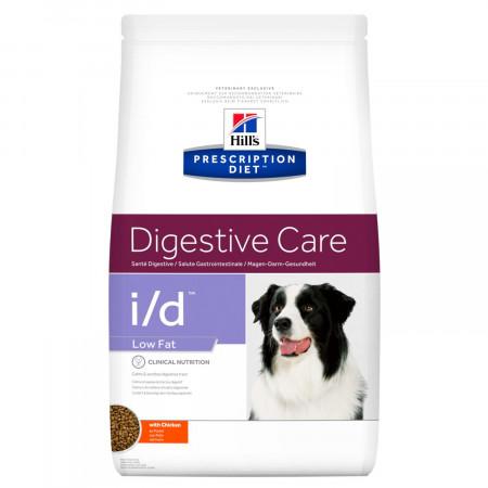 Сухой диетический корм для собак Hill's Prescription Diet Digestive Care i/d Low Fat при болезнях ЖКТ, с низким содержанием жира, с курицей 12 кг