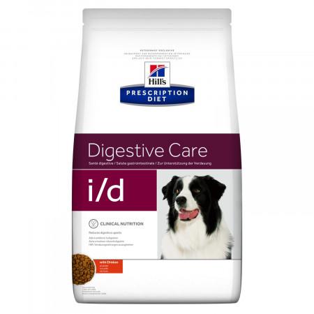 Сухой диетический корм для собак Hill's Prescription Diet Digestive Care i/d при болезнях ЖКТ, с курицей 12 кг