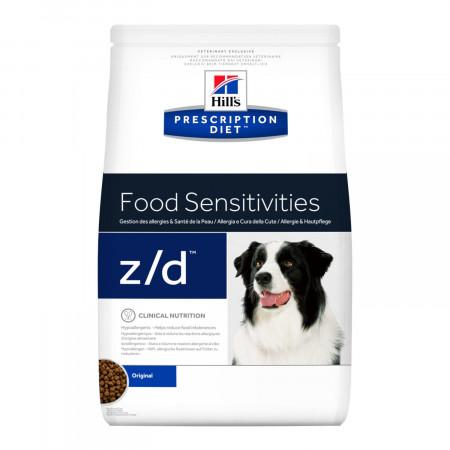 Сухой диетический корм для собак Hill's Prescription Diet Food Sensitivies z/d при аллергии 3 кг