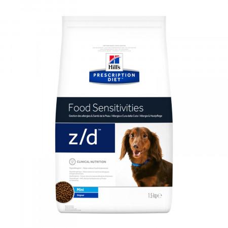 Сухой диетический корм для собак Hill's Prescription Diet Food Sensitivities z/d при пищевой аллергии (для мелких пород) 1.5 кг
