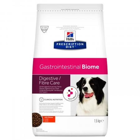 Сухой диетический корм для собак Hill's Prescription Diet Gastrointestinal Biome Digestive/Fiber Care, при болезнях ЖКТ, с курицей 10 кг