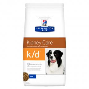 Сухой диетический корм для собак Hill's Prescription Diet Kidney Care k/d при заболеваниях почек, с курицей 12 кг