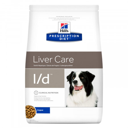 Сухой диетический корм для собак Hill's Prescription Diet Liver Care l/d при заболеваниях печени 5 кг