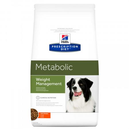 Сухой диетический корм для собак Hill's Prescription Diet Metabolic Weight Management при избыточном весе, с курицей 1.5 кг