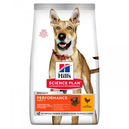 Сухой корм для активных, рабочих, охотничьих собак Hill's Science Plan Performance с курицей 12 кг