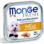 Влажный корм для собак Monge Fresh с курицей 100 г