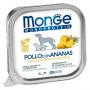 Влажный корм для собак Monge Monoprotein курица с ананасом 150 г