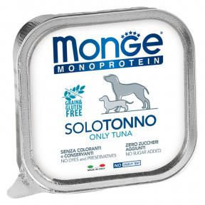 Влажный корм для собак Monge Monoprotein, тунец 150 г