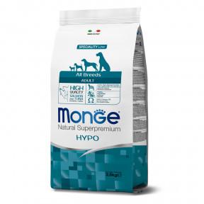 Сухой корм для собак Monge Speciality line Hypo гипоаллергенный, лосось с тунцом 2.5 кг